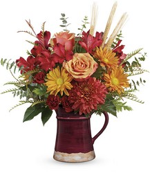 Teleflora's Fields Of Fall Bouquet from Arjuna Florist in Brockport, NY